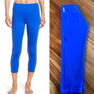 Zella crop mesh leggings! Size XS!